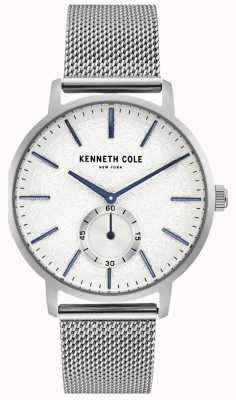 Kenneth Cole Orologio da uomo con quadrante in acciaio inossidabile KC50055002