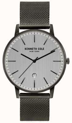 Kenneth Cole Orologio classico in maglia di acciaio inossidabile canna di fucile KC50009003