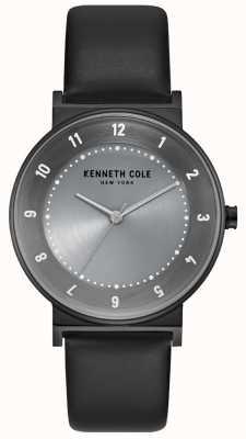 Kenneth Cole Custodia da donna in bronzo con cinturino in pelle nera KC50074001