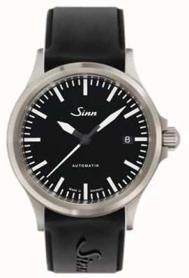 Sinn 556 cinturino in silicone nero con vetro zaffiro sportivo 556.010 SILICONE