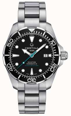 Certina Mens ds action divers powermatic 80 tutela delle tartarughe marine C0324071105110