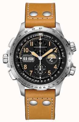 Hamilton Cronografo auto khaki aviation x-wind in edizione limitata H77796535