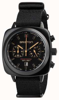 Briston | clubmaster sport nero opaco | 18142.PBAM.BS.4.NB