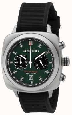 Briston Cinturino sportivo nero britannico verde opaco Clubmaster 16142.S.SP.16.RB