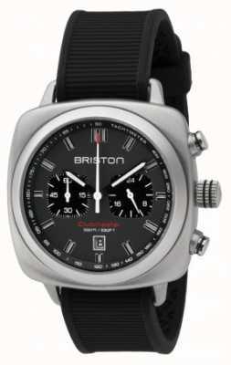 Briston Quadrante nero sportivo grigio gomma sport Clubmaster 16142.S.SP.17.RB