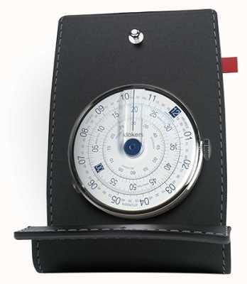 Klokers Klok 01 porta orologio blu e tasca KLOK-01-D4.1+KPART-01-C2