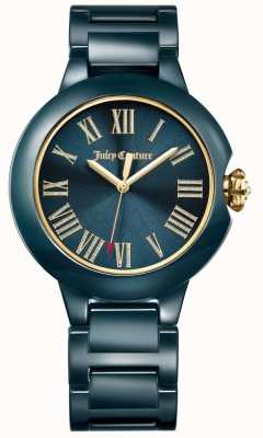 Juicy Couture Orologio in ceramica nera burbank da donna 1901653