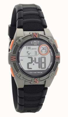 Limit Orologio digitale/analogico da uomo con cinturino in caucciù nero 5695.71