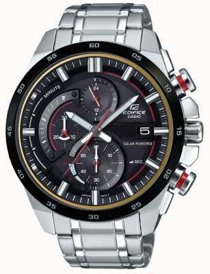 Casio Orologio da uomo con cronografo a energia solare EQS-600DB-1A4UEF