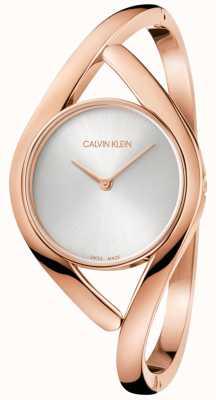 Calvin Klein Orologio da donna in acciaio inossidabile oro rosa K8U2M616