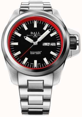 Ball Watch Company Idrocarburi per ingegnere in edizione limitata NM3200C-SJ-BKRD