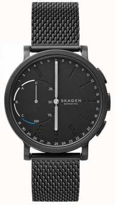 Skagen Hagen connesso orologio intelligente cinturino nero con cinturino in maglia nera SKT1109