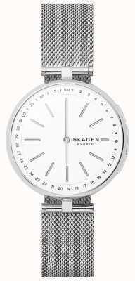 Skagen Signatur collegato intelligente orologio in acciaio inox mesh SKT1400