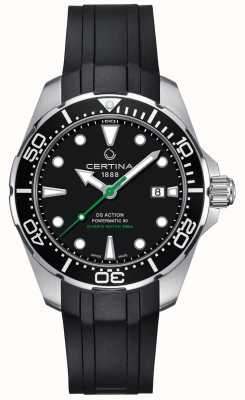Certina Orologio da uomo certina ds action diver powermatic 80 automatico C0324071705100