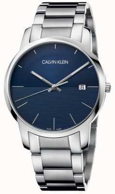 Calvin Klein Quadrante blu con cinturino in acciaio inossidabile K2G2G14Q