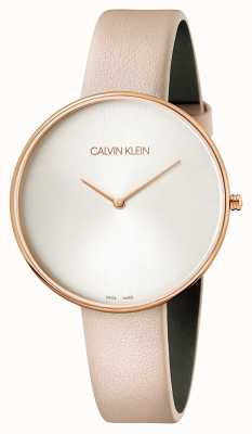 Calvin Klein Signore in pelle rosa luna piena K8Y236Z6