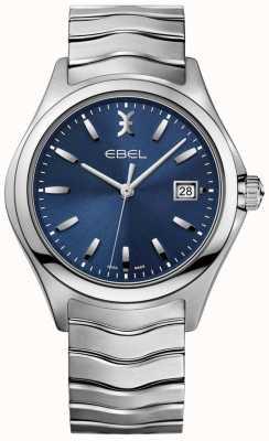 EBEL Orologio da uomo con quadrante blu con cinturino in acciaio inossidabile 1216238