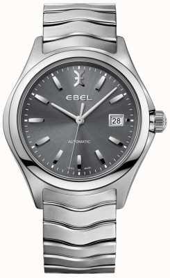 EBEL Orologio da uomo automatico con quadrante grigio con datario in acciaio inossidabile 1216266