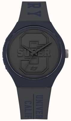 Superdry Cinturino urban xl varsity grigio opaco con quadrante grigio SYG240EU