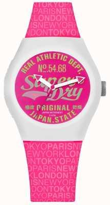Superdry Quadrante e cinturino urban paradise rosa SYL249P
