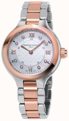 Frederique Constant Lo smartwatch dell'orologeria femminile regala due tonalità di oro rosa FC-281WHD3ER2B