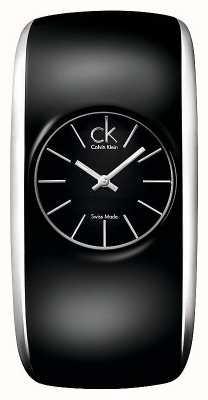 Calvin Klein Gloss womens tutto orologio nero K6093101