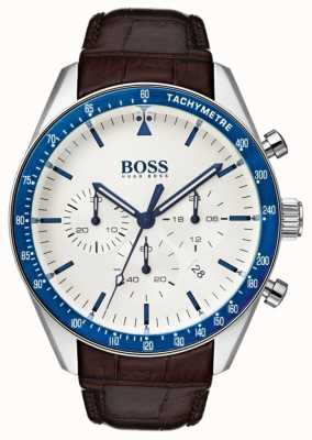 Boss Quadrante bianco trofeo Mens 1513629