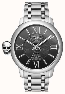 Thomas Sabo Mens ribelle con orologio teschio in acciaio inossidabile karma WA0304-201-203