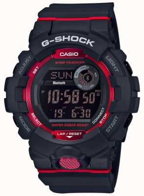 Casio Step-tracker bluetooth digitale nero / rosso G-squad GBD-800-1ER