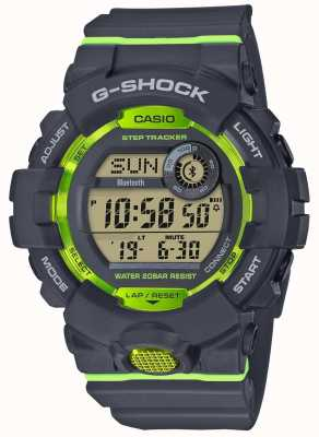 Casio Tracker bluetooth digitale grigio verde G-squad GBD-800-8ER