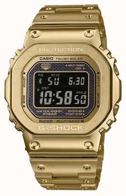 Casio Premium Acciaio placcato oro solare bluetooth con controllo radio G-shock GMW-B5000GD-9ER