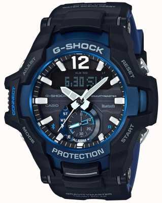 Casio G-shock gravitymaster bluetooth nero solare / gomma blu GR-B100-1A2ER