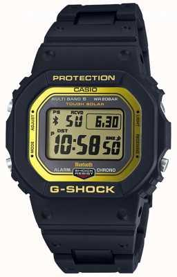 Casio Banda composita controllata da radio bluetooth G-shock nera / gialla GW-B5600BC-1ER