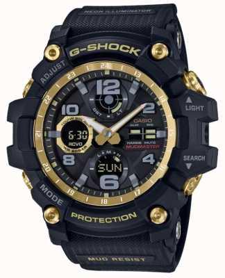 Casio Cinturino in gomma oro nero radiocomandato G-shock GWG-100GB-1AER