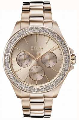 Hugo Boss Bracciale placcato in oro placcato oro 1502443