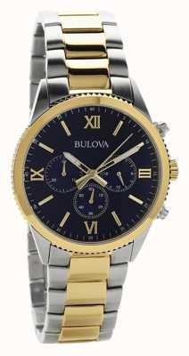 Bulova Orologio cronografo da donna bicolore 98A220