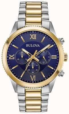 Bulova Orologio cronografo da donna | cinturino in acciaio inossidabile 98A220