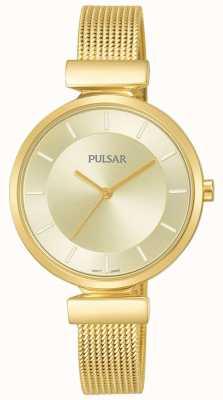 Pulsar Orologio da donna con cinturino in acciaio inossidabile color oro PH8412X1