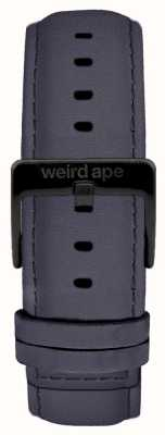 Weird Ape Fibbia nera in camoscio blu scuro con fibbia 20 mm ST01-000079