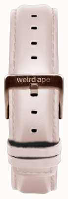 Weird Ape Fibbia in oro rosa con cinturino 16mm in pelle nuda ST01-000034