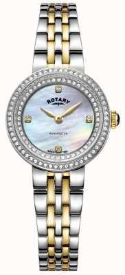 Rotary Ladies kensington | cinturino in acciaio bicolore | LB05371/41