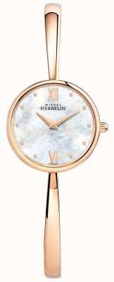 Michel Herbelin Bracciale da donna in oro rosa con cinturino in oro rosa 17408/BPR19
