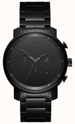 MVMT Chrono 45mm black link | pvd nero | quadrante nero D-MC01BB