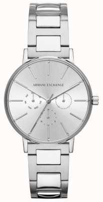 Armani Exchange Orologio cronografo da donna in acciaio inossidabile lola AX5551