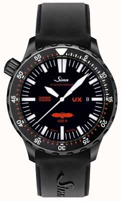 Sinn Ux s gsg 9 pvd in gomma 5000m resistente all'acqua 403.062 RUBBER