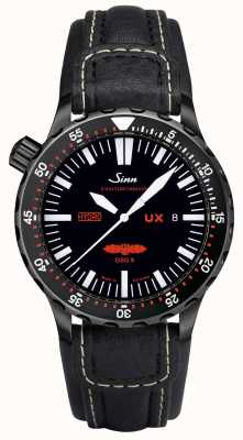 Sinn Ux s gsg 9 pvd leather 5000m resistente all'acqua 403.062 LEATHER