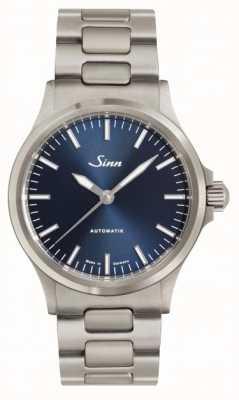 Sinn 556 braccialetto in metallo con quadrante blu ib 556.0104 LINK BRACELET
