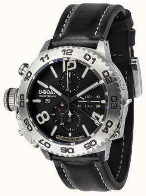 U-Boat Classico doppiotempo 46 cronografo in acciaio inossidabile 9016