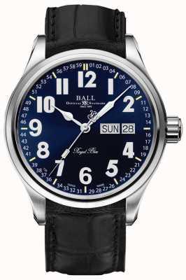Ball Watch Company Visualizzazione data e giorno blu di Trainmaster NM1058D-LL9J-BE