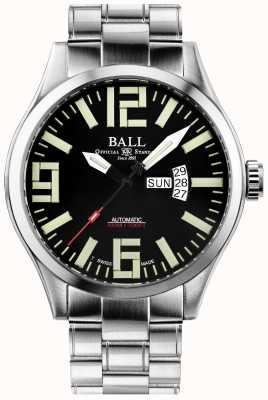Ball Watch Company Engineer master ii aviator display automatico di giorno e data NM1080C-S14A-BK